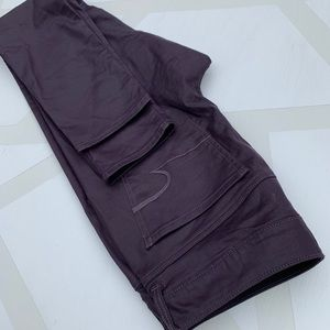 American Eagle Outfitters Pants - American Eagle Skinny Jeggings Coated Purple 8